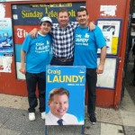 Anthony Perosh and Craig Laundy - Member for Reid Liberal Party