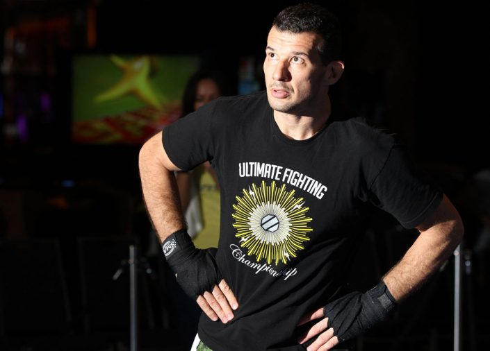 UFC On FX: Anthony Perosh Open Workouts