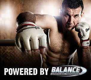 Anthony Perosh is sponsored by Balance Sports Nutrition