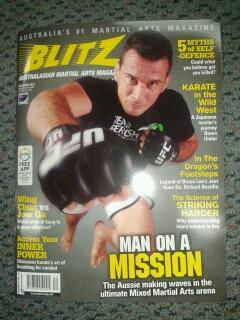 Blitz December 2013 Perosh cover