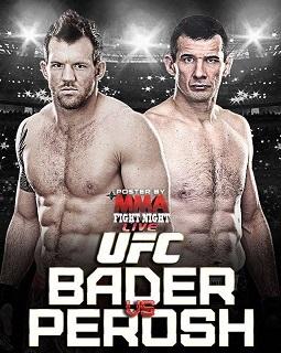 UFC FN33 Perosh vs Bader