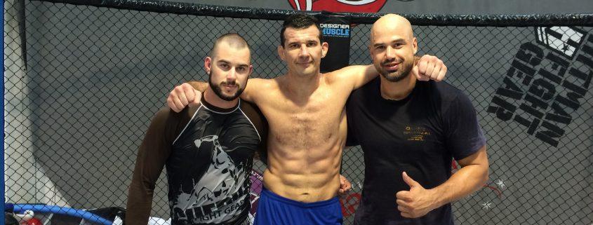 UFC FN33 Team Perosh