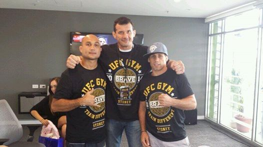 Brave Anti Bullying Event UFC Gym Sydney Perosh Penn Faber 22nd March
