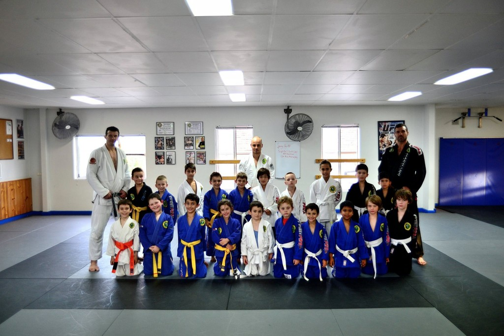 Concord Kids Senior BJJ Grading April 2014