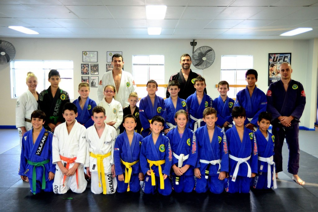 Concord Junior Kids BJJ Grading April 2014