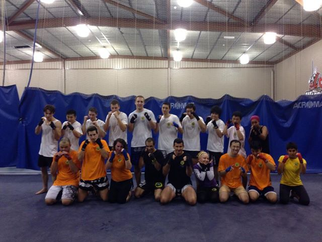 Macq Uni Thai Kickboxing Grading April 2014
