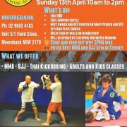 Moorebank MMA, BJJ, Thai Kickboxing Gym Grand Reopening