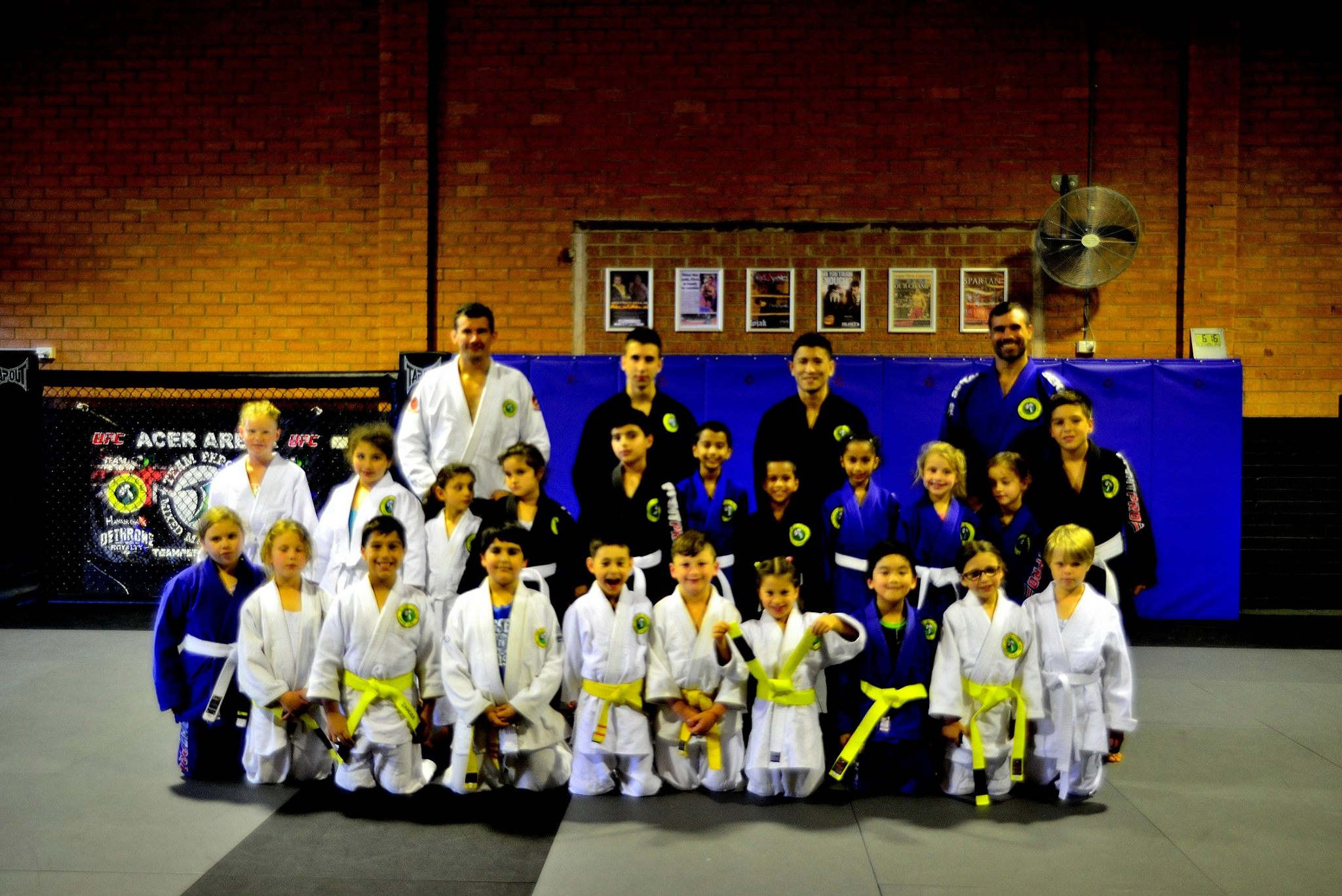 Moorebank Kids BJJ Grading April 2014