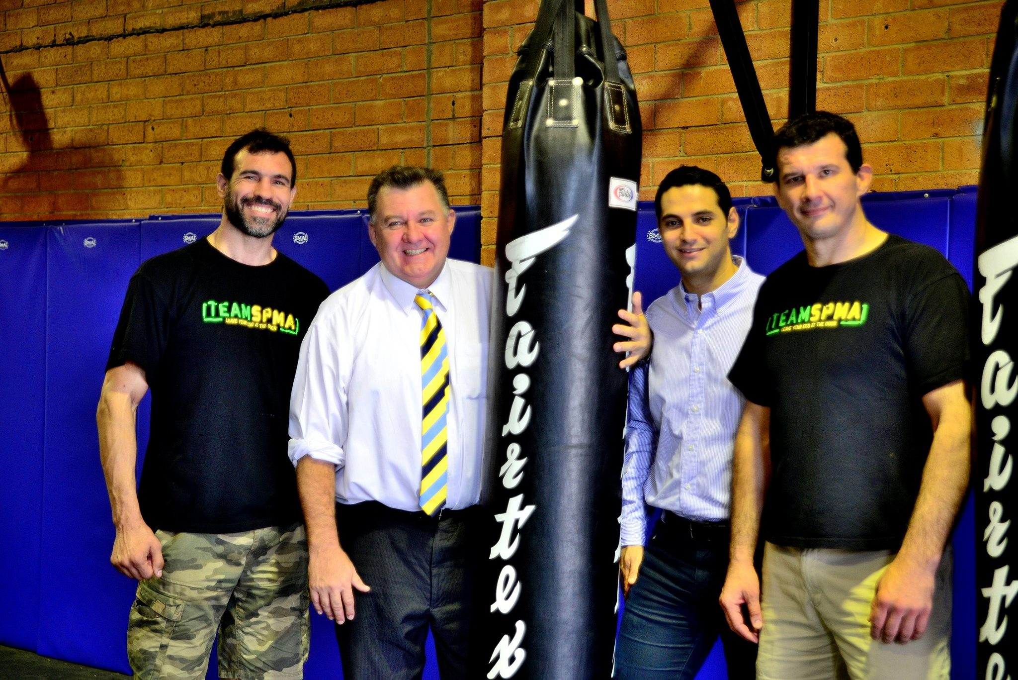 Moorebank MMA BJJ Kickboxing Gym Grand Reopening group shot