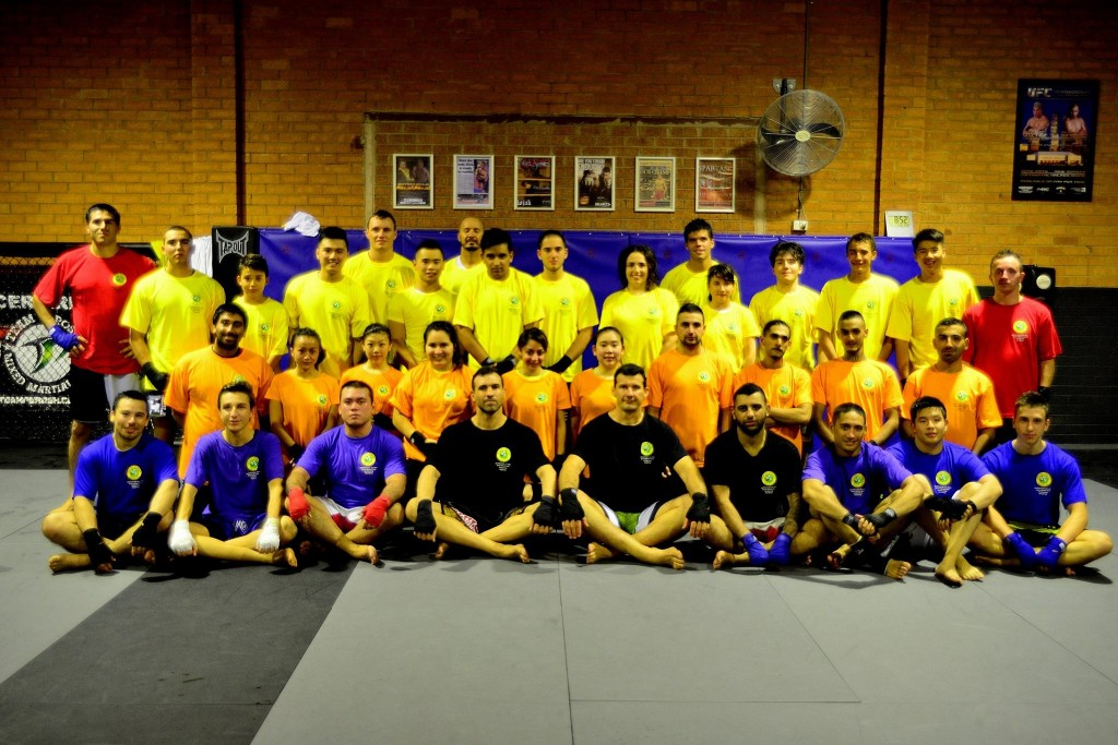 Moorebank Thai Kickboxing Grading April_2014