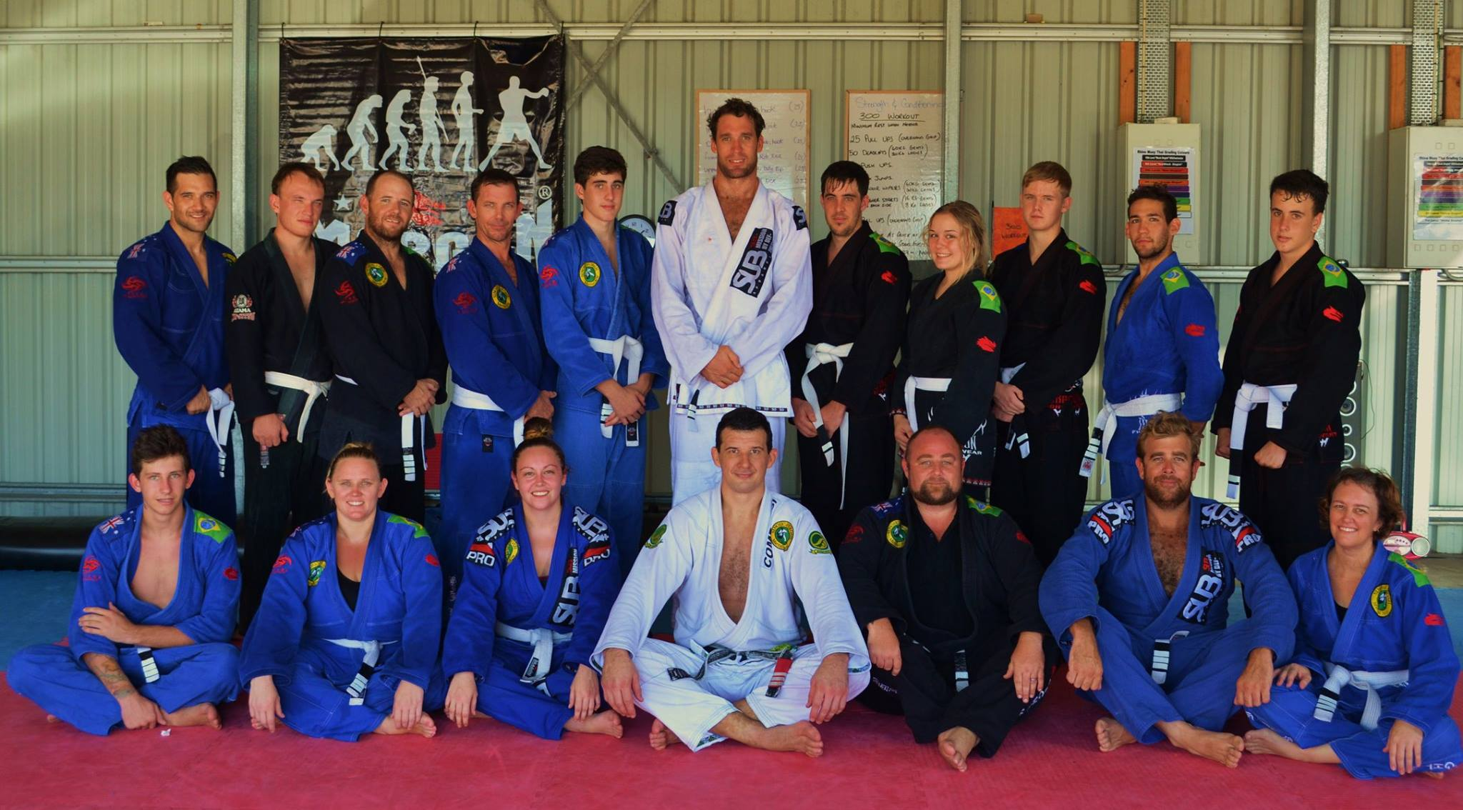 Yeppoon BJJ Grading March 2014