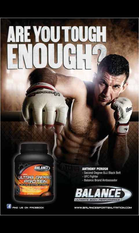 Balance Sports Nutrition Ambassador Anthony Perosh