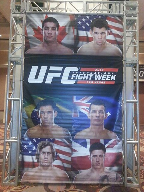 UFC International Fight Week Anthony Perosh July 2014