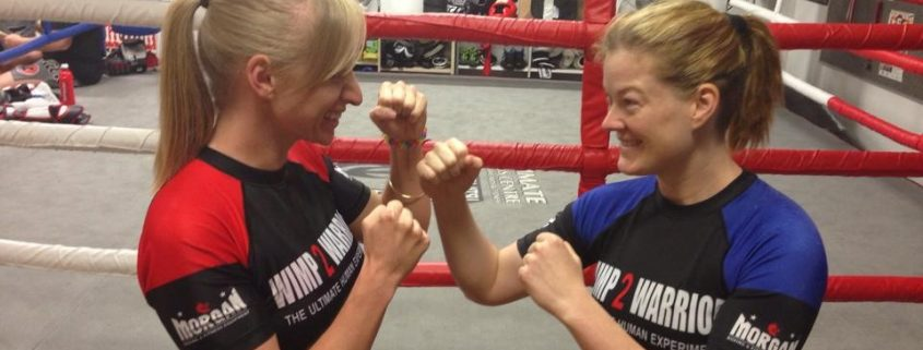 Wimp to Warrior 2014 MMA SPMA Kelly Lawson