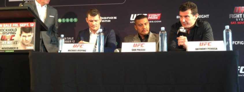UFC Fight Night 55 Press Conference Sydney 1