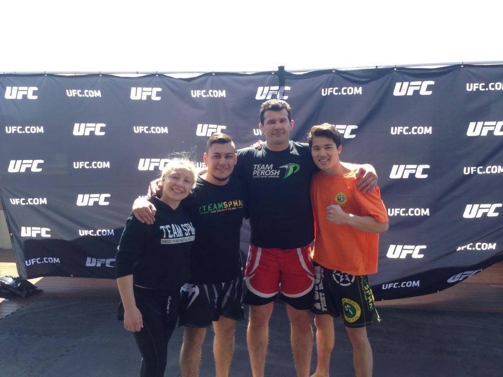 UFC Fight Night 55 Press Conference Sydney 3