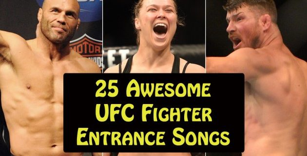 25UFCFighterEntranceSongs