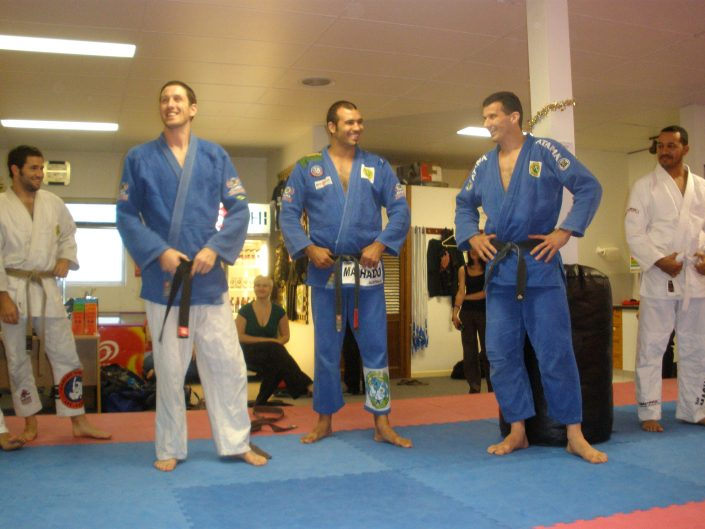 First SPMA BJJ black belt Ben Power