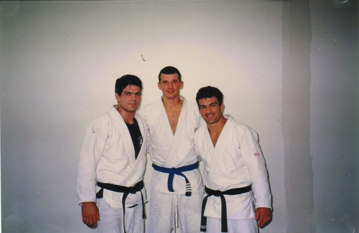 Jean Jacques Machado, Anthony Perosh and Carlos Machado