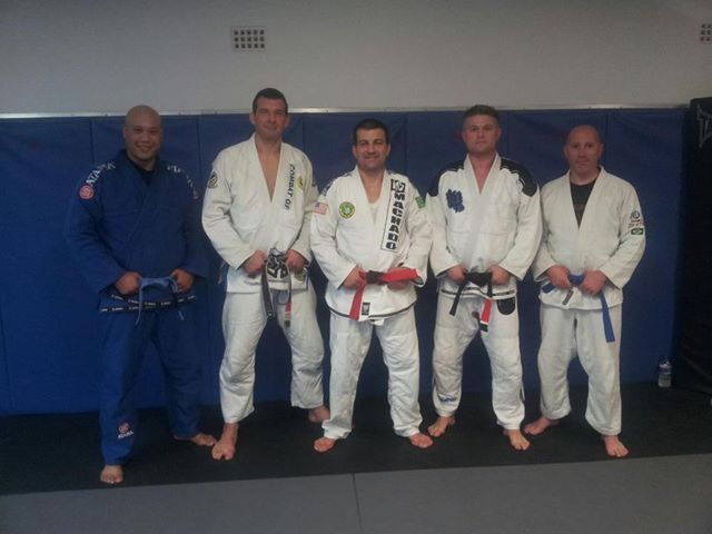 BJJ Blue belt Maynard from Tool