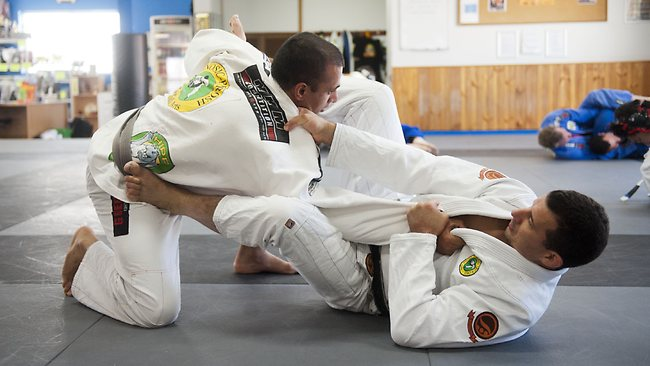 BJJ Training with Anthony Perosh and Shaher Khan