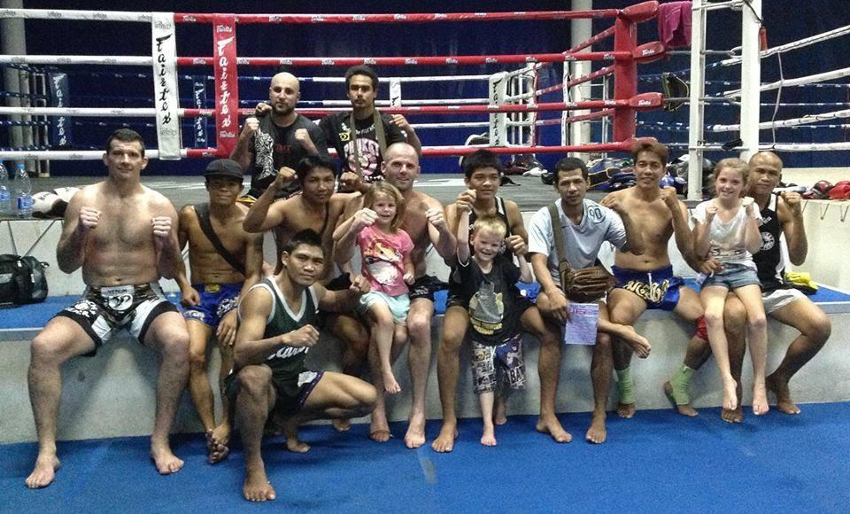 Muay Thai Kickboxing Phuket Yop Team