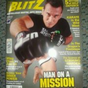 Blitz December 2013 Perosh cover