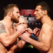 UFC FN33 Face off