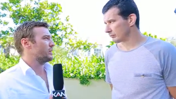 Anthony Perosh on MMA Kanvas talking about coward punching