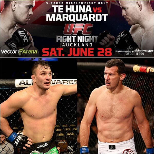 UFC New Zealand Perosh Villante 28th June 2014