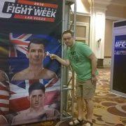 UFC International Fight Week Anthony Perosh July 2014