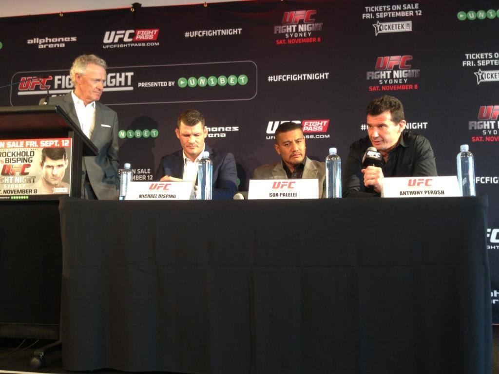 UFC Fight Night 55 Press Conference Sydney 1