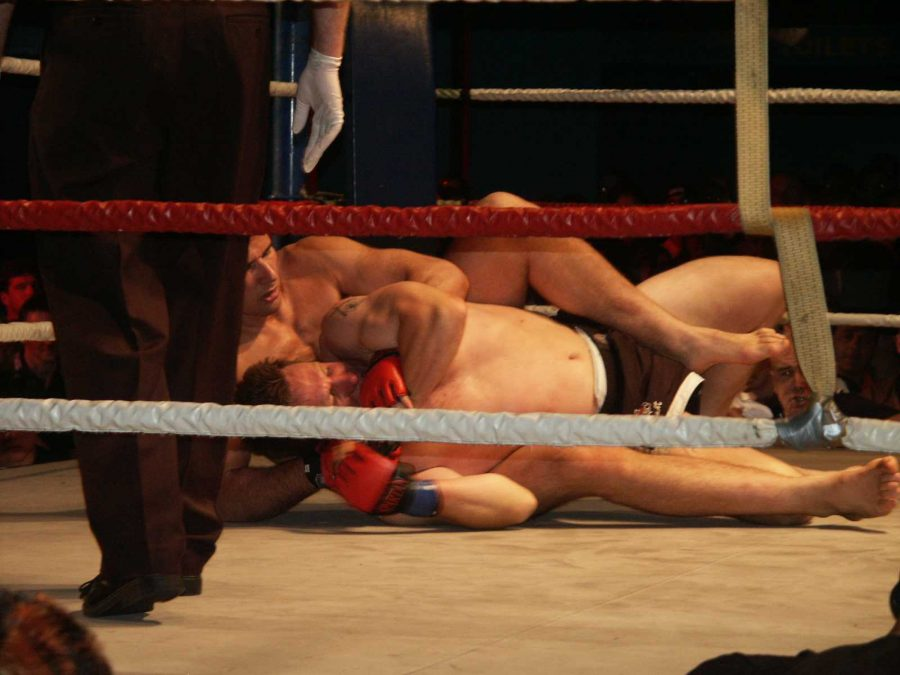 AP vs Dave Frendin - on his back