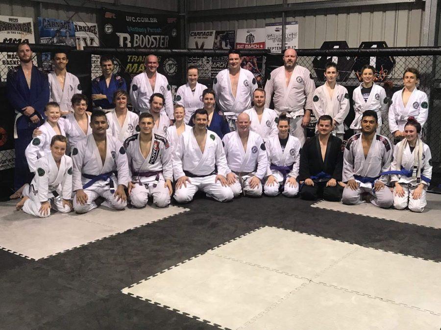 Mackay MMA BJJ Grading Nov 2018