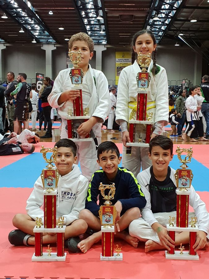 BJJ Team Results at IBJJF and ISKA competitions in Sydney