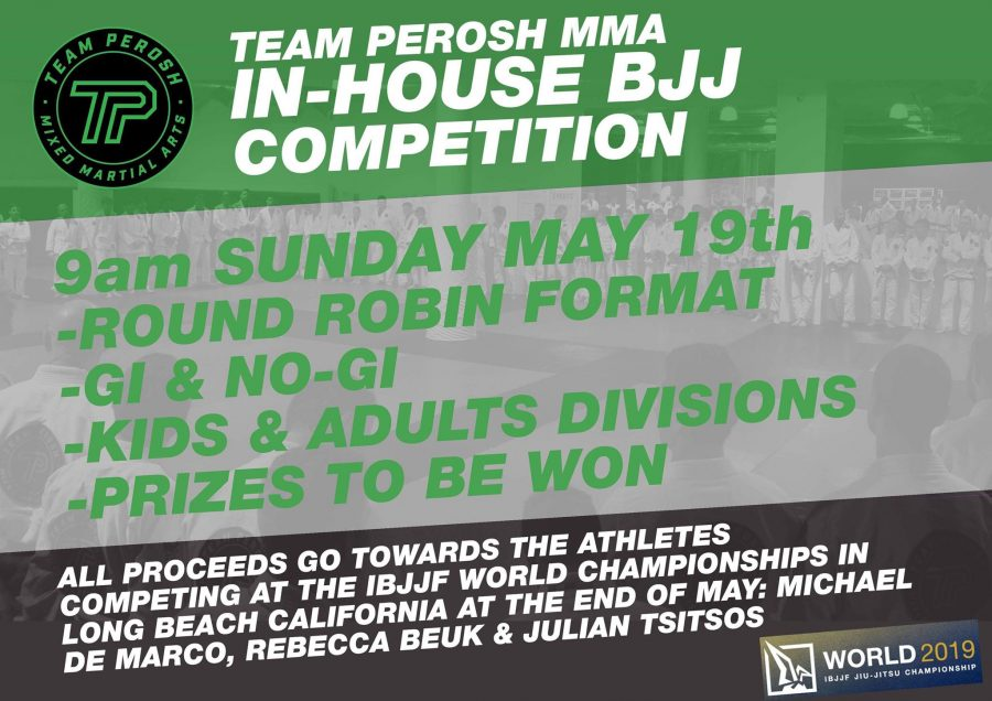 In house bjj comp