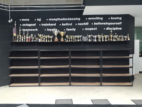 Our values...& trophies!